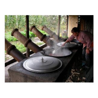 Giant Cooking Pots/Yunnan Province, China Postcard