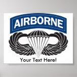 Giant Custom Airborne Poster
