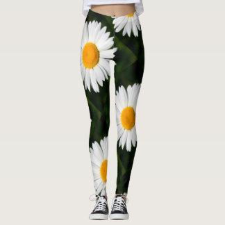 giant daisy leggings