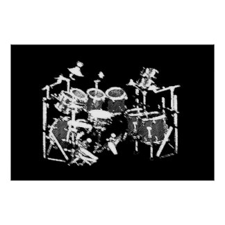Giant Drum Poster