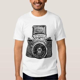 Giant East German Camera - Black Tee Shirt