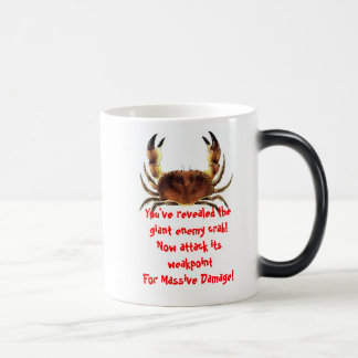 Giant Enemy Crab Morphing Mug