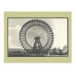 Giant Ferris Wheel LONDON Postcard