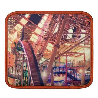 Giant Ferris Wheel Vintage Industrial City Urban iPad Sleeves