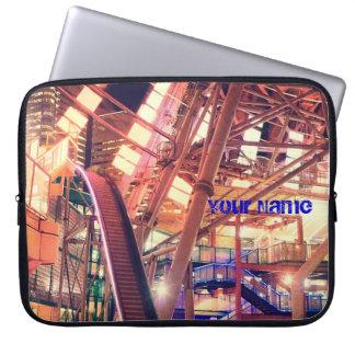 Giant Ferris Wheel Vintage Industrial City Urban Laptop Computer Sleeve