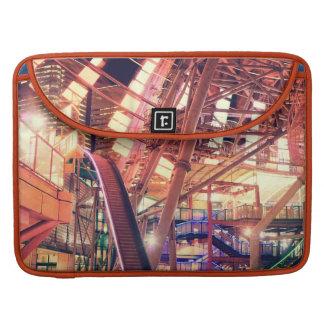 Giant Ferris Wheel Vintage Industrial City Urban Sleeve For MacBook Pro