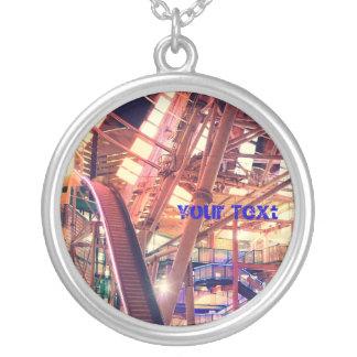 Giant Ferris Wheel Vintage Industrial City Urban Jewelry
