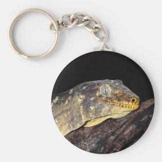 Giant geckos basic round button key ring