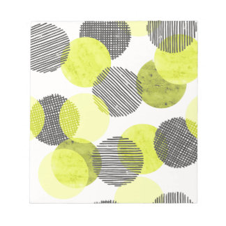 Giant Green Dots Notepad