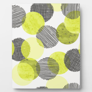 Giant Green Dots Plaques