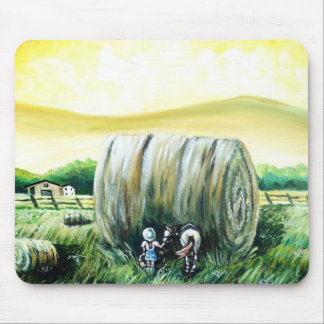 Giant Haybale Mouse Pad