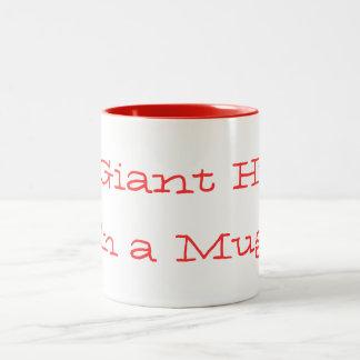 Giant Hug mug