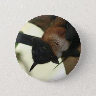 Giant Indian Fruit Bat 6 Cm Round Badge
