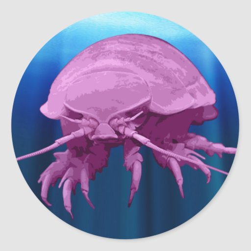 Giant Isopod Sticker
