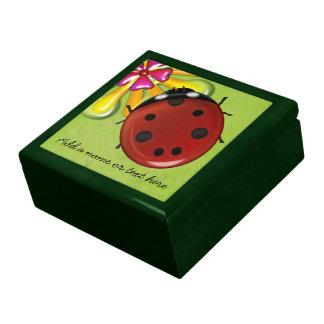 Giant Ladybug Jewelry Boxes