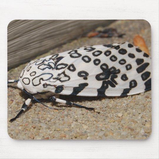 Giant Leopard Moth Mouse Mat
