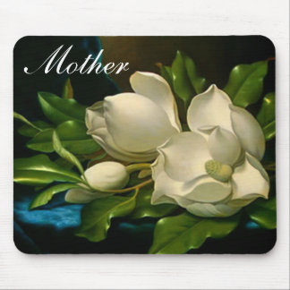 Giant Magnolias Mouse Pad