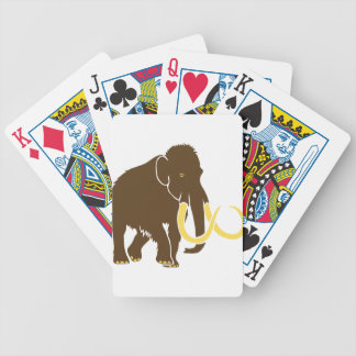 giant mammoth ice age ice age steinzeit elephant bicycle playing cards