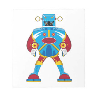 Giant Mecha Robot Notepad