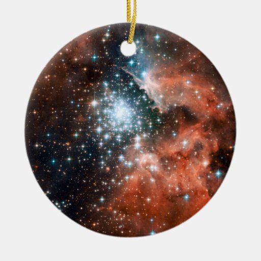 Giant Nebula Star Cluster Space Ornaments