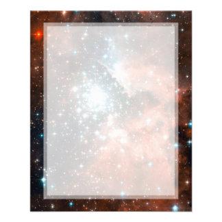 Giant Nebula Star Cluster Space Custom Flyer
