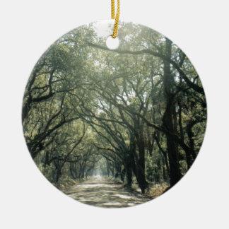 Giant Oak Trees Christmas Ornaments