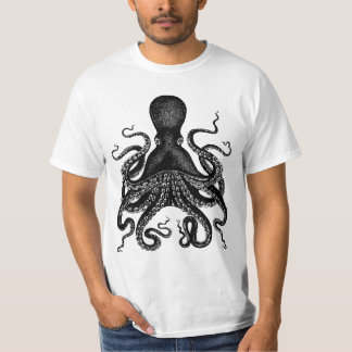 Giant Octopus - 20,000 Leagues Kraken Tshirts