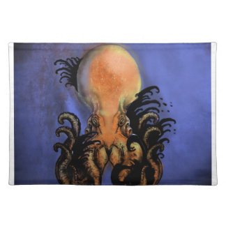 Giant Octopus or Kraken Placemat