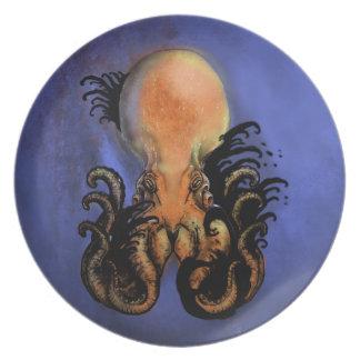 Giant Octopus or Kraken Plate