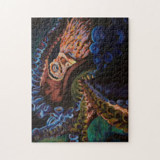 Giant Pacific Octopus Jigsaw Puzzle