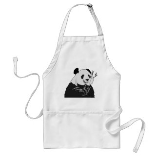 Giant Panda Aprons