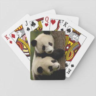 Giant panda babies (Ailuropoda melanoleuca) 2 Playing Cards