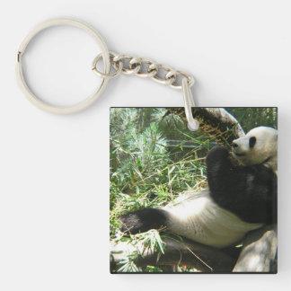 Giant Panda Bear Acrylic Key Chains