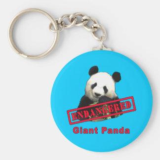 Giant Panda Endangered products Keychain