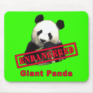 Giant Panda Endangered products Mouse Mat
