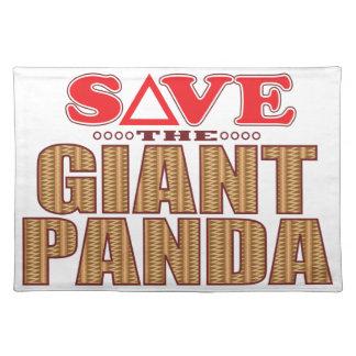 Giant Panda Save Placemat