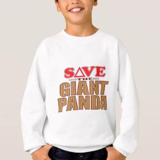 Giant Panda Save Sweatshirt