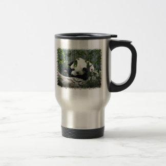 Giant Panda Stainless Steel Travel Mug