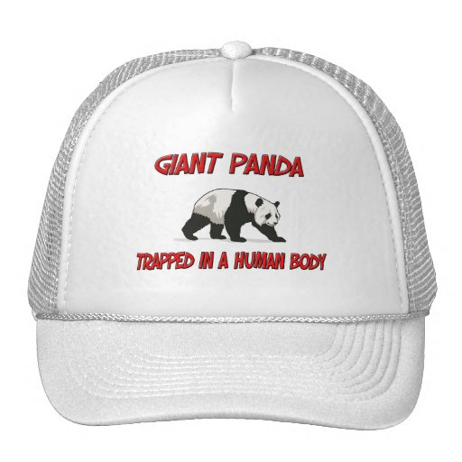 Giant Panda trapped in a human body Mesh Hat