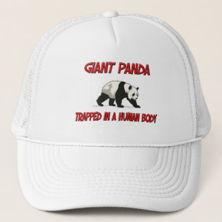 Giant Panda trapped in a human body Trucker Hat