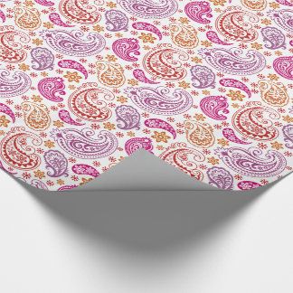 Giant Pastel Paisleys -2- Wrapping Paper