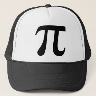 "Giant ""Pi"" Symbol Trucker Hat"