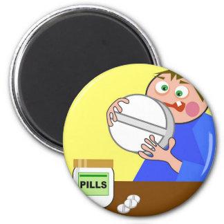 Giant Pill Fridge Magnets