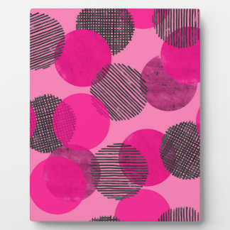 Giant Pink Dots Plaque