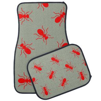 Giant Red Fire Ants Swarm Novelty Car Floor Mats Floor Mat