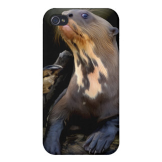 Giant River Otter iPhone Case Case For iPhone 4