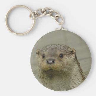 Giant River Otter Keychain