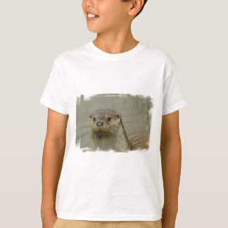 Giant River Otter Kid's T-Shirt