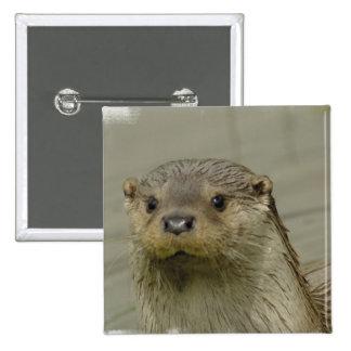 Giant River Otter Pin