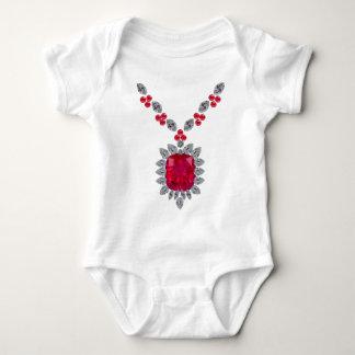 Giant Ruby Baby Bodysuit
